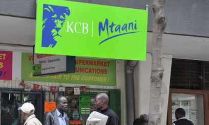 KCB pretax profit for 2014 rose 18 percent to Sh23.79 billion helped by a rise in interest income