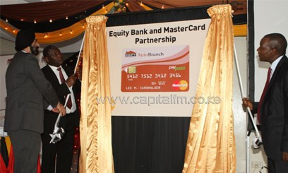 MasterCard Sub-Saharan Africa Division President Daniel Monehin said that their collaboration with Equity Bank and Ezetap will help businesses and retailers boost sales through broadened acceptance/FILE