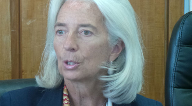 IMF Managing Director Christine Lagarde said the Bretton Woods institution was not in a position at the moment to give the exact form of facility to be given to Kenya, until March/FILE
