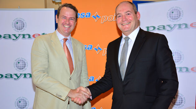 Paynet Group Chief Executive Officer (CEO) Bernard Matthewman says the platform offers potential for growth and will extend the range of services offered by PesaPoint/FILE