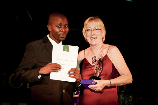 Highest Number of Units Sold Award – Africa Joseph Amoro (Development Agent, Kenya), Greta Daniel (National Sales and Operations Manager, South Africa)