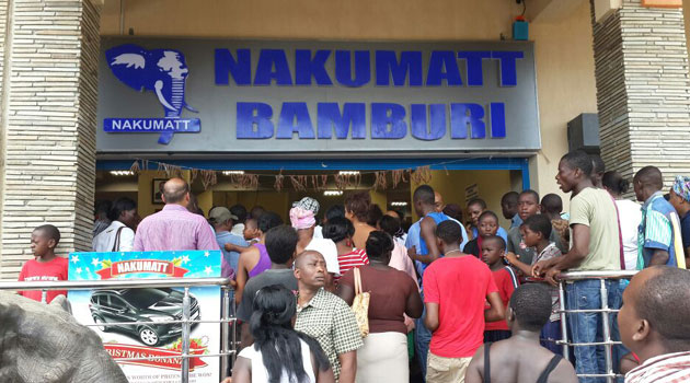 Shoppers at Nakumatt stand a chance to win fabulous prizes valued at more than Sh20million during this festive season/FILE