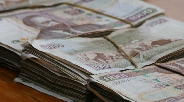 "The Central Bank of Kenya (CBK) has now been urged to come up with more measures of protecting the currency which could ""touch 100 mark in the next three weeks if much is not done.""/FILE"