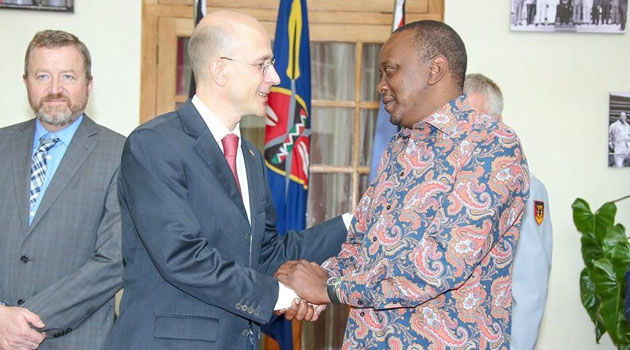 Speaking when he bid farewell to President Uhuru Kenyatta at State House, Nairobi, Wednesday morning, the Germany Ambassador also said another German carrier, Condor Airlines, will introduce weekly flights from Munich to Mombasa/PSCU