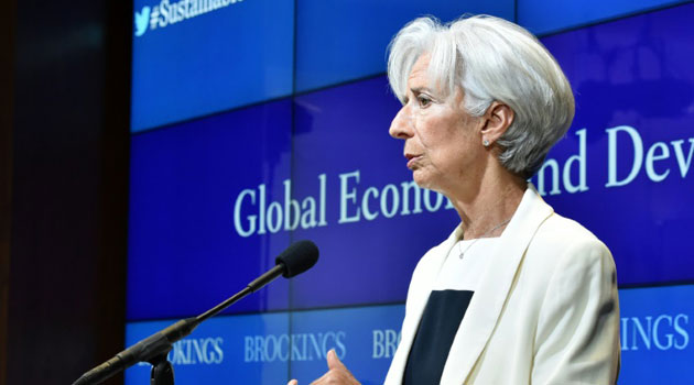 "International Monetary Fund Managing Director Christine Lagarde said ""Greece is in a situation of acute crisis which needs to be addressed""/AFP"