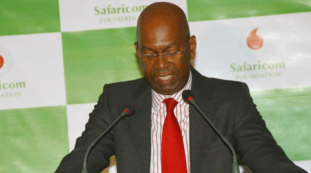 According to Safaricom's CEO Bob Collymore, the dividend payment represents 80 percent of its net income and is a 36 percent increase on 2014's dividend/FILE
