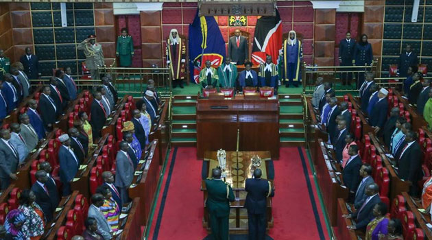 """President Kenyatta said it was regrettable that the focus of county governments appeared to be on, """"palaces"""" and """"fleets of vehicles"""" rather than on uplifting the condition of their constituents/PSCU"""