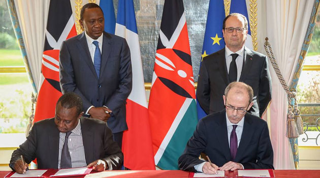 The pacts signed included those on the financing of the Last Mile Connectivity Programme (Euros 120 million), additional funding for roads 2000 programme phase II (Euros 15 million), financing of Meru Wind Farm (Euros 60 million) and the financing of Ruiru II Dam & Water Supply project (Euros 19 million)/PSCU