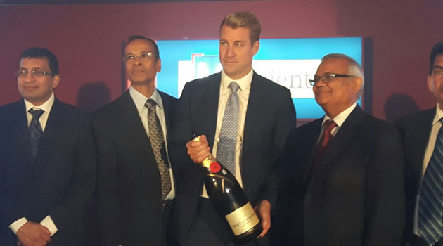 Bank M Tanzania Chief Executive Sanjeev Kumar says the bank will start operations with eight branches which were originally Oriental's and plans to open six more in the near future/CFM NEWS