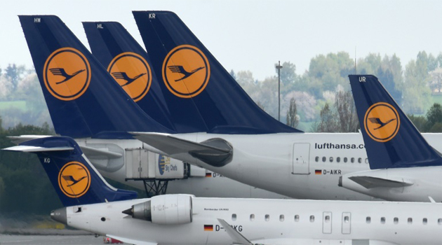 Lufthansa in July cut profit targets for the year after a spate of terror attacks in Europe and geopolitical uncertainty cut into bookings/AFP-File