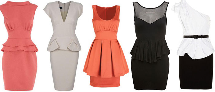 SOPHISTICATED-PEPLUM