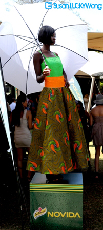fashion high tea at zen garden photographed by susan wong 2012 nairobi kenya - novida model