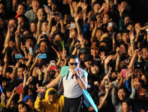 psy in korea
