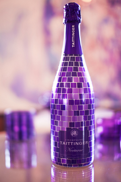 taittinger purple mosaic