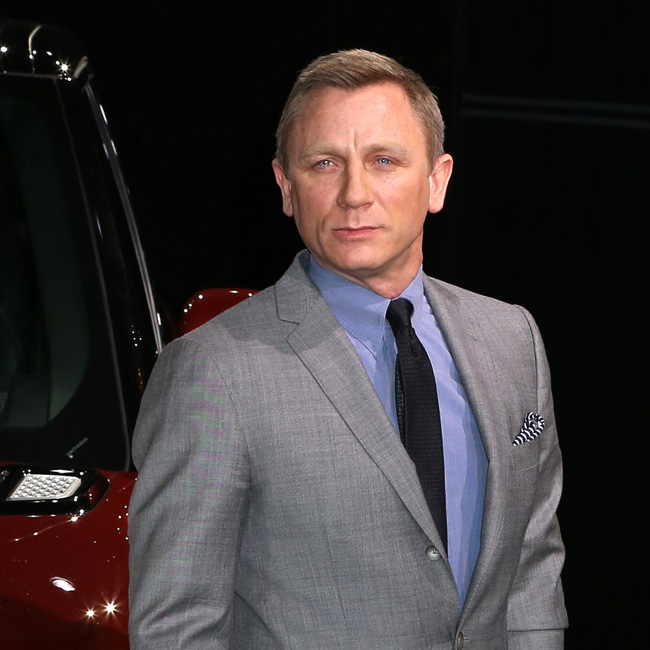 Daniel Craig at Land Rover Sport World Unveiling in NYC