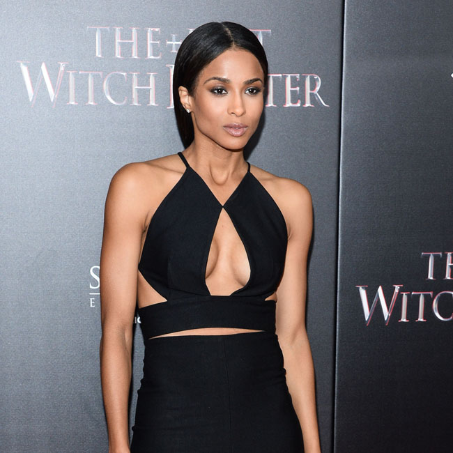 "Singer Ciara shows plenty of cleavage in a figure-hugging black halterneck gown at ""The Last Witch Hunter"" New York Premiere Oct 13, 2015 - AMC Loews Lincoln Square - New York City, New York, United States Pictured: Ciara Princess Harris, Ciara Ref: SPL1151269  131015   Picture by: Splash News Splash News and Pictures Los Angeles:	310-821-2666 New York:	212-619-2666 London:	870-934-2666 photodesk@splashnews.com"