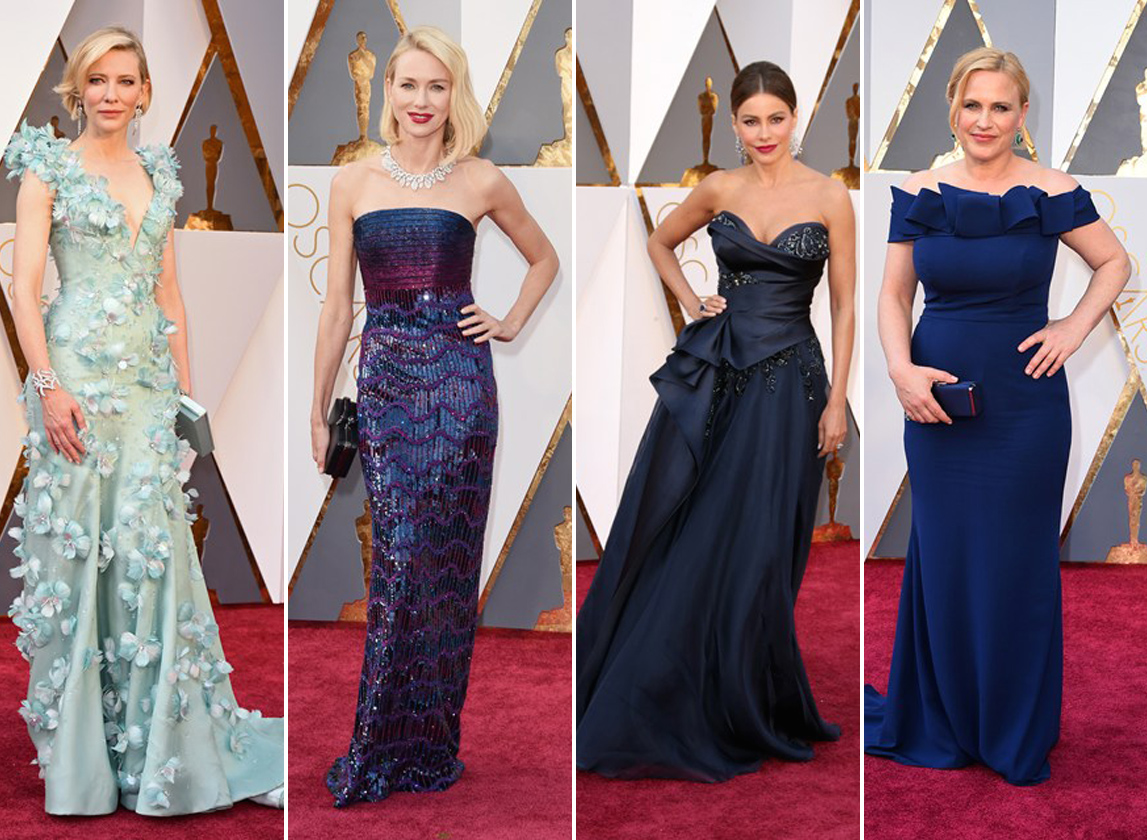 Oscars Fashion - Blue