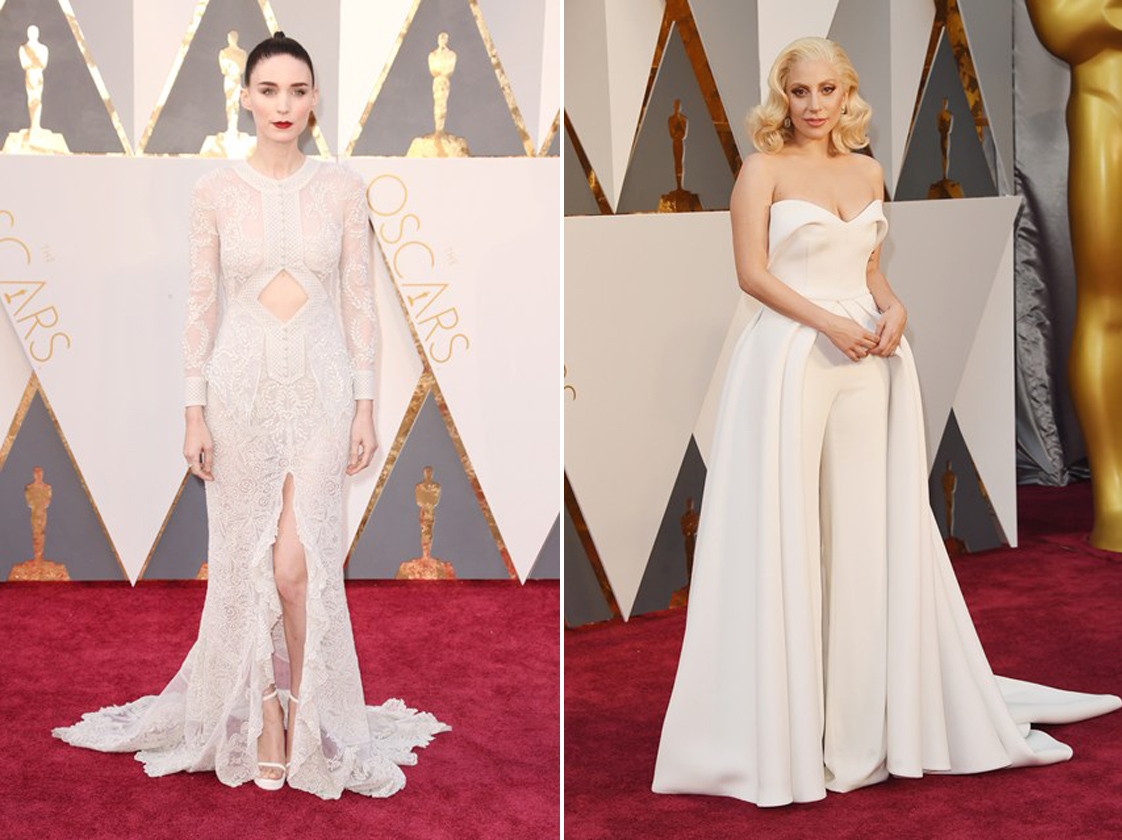 Oscars Fashion - White