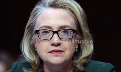 US Secretary of State Hillary Clinton testifies January 23, 2013 in Washington/AFP