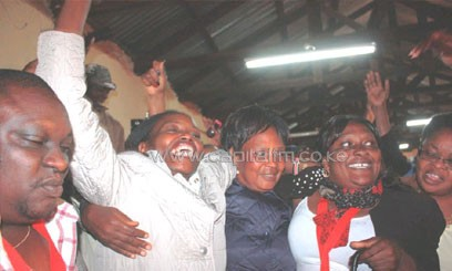 Mary Wambui will now contest the Othaya parliamentary seat on a TNA ticket/FILE