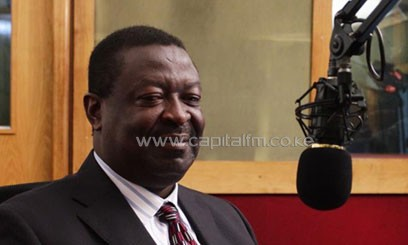 Speaking during the Breakfast Show on Capital FM on Thursday morning, Mudavadi pointed out that he has what it takes to beat his opponents in the poll/FELIX MAGARA