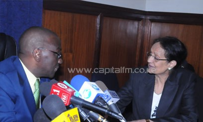 Rawal who appeared on Monday afternoon said she was the most experienced to replace Nancy Baraza/FILE