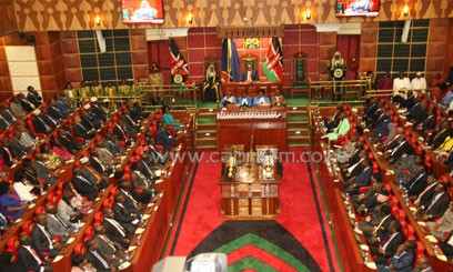 The MPs have been protesting after the salaries team slashed their monthly pay from Sh851,000 to Sh535,000/FILE