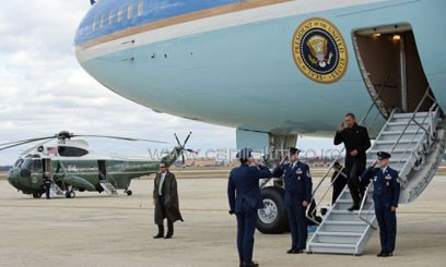 Obama heads to Africa on a long awaited first major tour Wednesday at a poignant moment, just as the world prepares to bid a reluctant farewell to Nelson Mandela/AFP-File