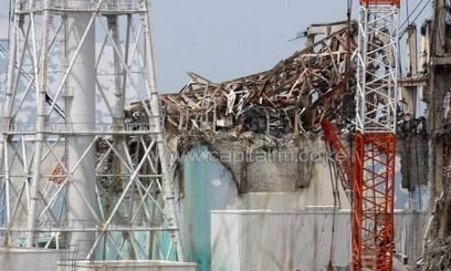 The No. 3 reactor building, pictured in May 2012, at the stricken Fukushima nuclear power plant/AFP