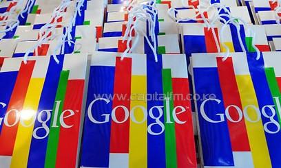 Google bag packs/FILE