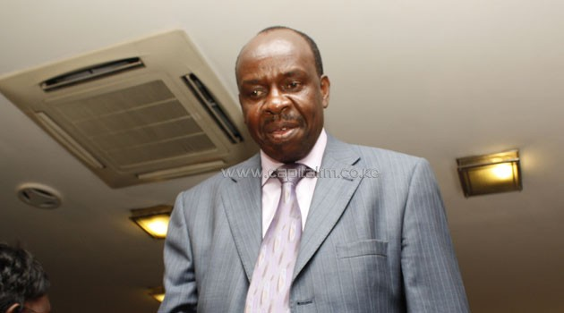 I just want to make Kenya a sober nation, Mututho said/FILE
