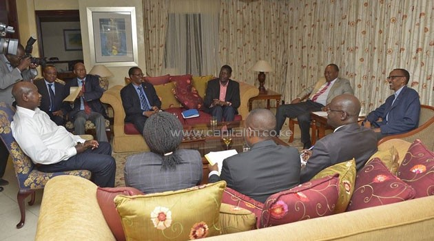 President Kenyatta said although the rest of the world had maintained a studious silence as Rwandan Hutus killed members of the Tutsi ethnic community, it was not justified for the East African region to also stand aside without taking action/PSCU
