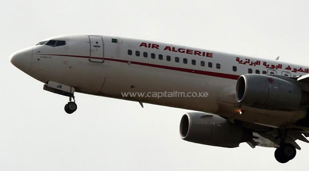 An Air Algerie plane prepares to land at the Houari-Boumediene International Airport in Algiers on July 24, 2014/AFP