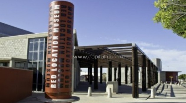 The Red Location Apartheid museum in New Brighton, outside the southern city of Port Elizabeth, South Africa/AFP
