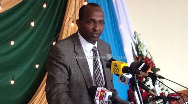 """Duale relayed the message through his Twitter handle saying, """"Hon. Kajwang' should carry his own cross/FILE"""