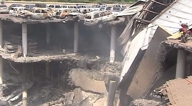 According to the Kenyan government, 67 people died and more than 200 others were injured when Al-Shabaab militants stormed the four-storey shopping mall on September 21, 2013/FILE
