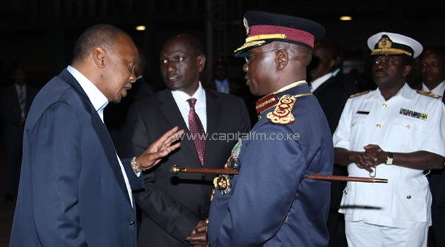 The President is understood to be concerned about the increased banditry attacks in the area where 23 police officers have been killed in just two weeks, raising concerns on the capacity of the country's security forces. CFM/File.
