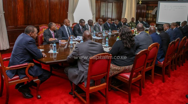 President Kenyatta had on Tuesday instructed the government's security actors to engage with members of relevant committees of the Legislature to identify the legal and administrative weaknesses that make the country vulnerable to terrorism/PSCU