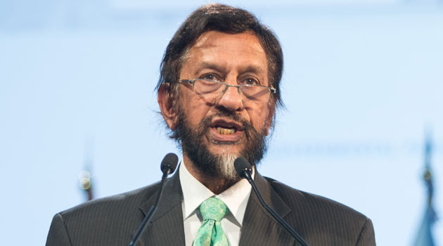 The female employee, who cannot be named for legal reasons, has accused Pachauri of repeated inappropriate behaviour, including through emails, text and WhatsApp messages, according to police/XINHUA-File