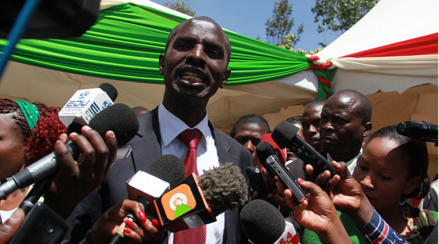 KNUT Secretary General Wilson Sossion described the decision as foolhardy while MoEST Cabinet Secretary Jacob Kaimenyi insisted that it was action that was long overdue/MIKE KARIUKI