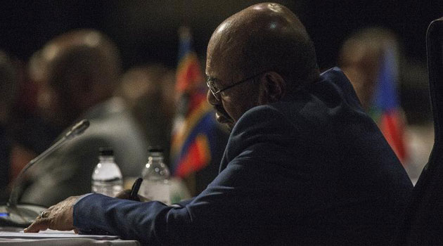 South Africa's Sunday Times reported a secret meeting of top ministers that mapped a deal to protect Bashir/AFP-File