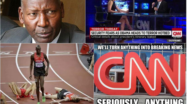 Nkaissery says it is the second time CNN is taking a biased angle in its reporting about Kenya's security yet terrorism is a global challenge/CFM