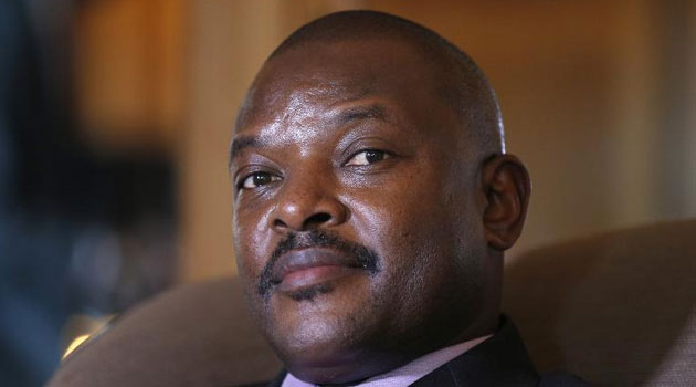 The crisis in Burundi surrounds Nkurunziza's bid to stand for a third consecutive five-year term in office, a move branded by opponents as unconstitutional and a violation of a peace deal that brought an end to years of civil war in 2006. Photo/ PSCU FILE