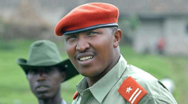 Ntaganda Bosco, shown as in 2009 at his base in Kabati, goes on trial before the International Criminal Court Wednesday, accused of war crimes including the rape of child soldiers by his rebel army in the Democratic Republic of Congo/FILE