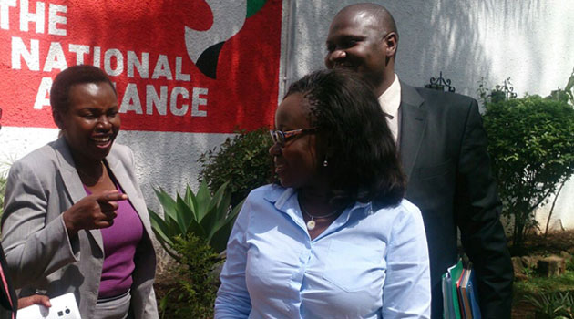 The committee insists Gwendo brought shame to the party which President Uhuru Kenyatta is associated with, while also being disrespectful to the Kisumu branch after she defied summons to appear before the branch officials/FILE