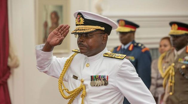 Congratulating the new Navy Commander, President Kenyatta appreciated the sacrifice that the Kenya Defence Forces (KDF) have been making for the country/PSCU