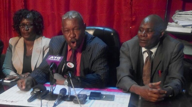 The association's Secretary General Musau Ndunda said candidates in public schools would be disadvantaged should the exams go on as scheduled, given teachers have been on strike for the last three weeks.