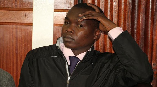 Teacher Hillary Okeyo is accused of defiling his student. Photo/ FILE