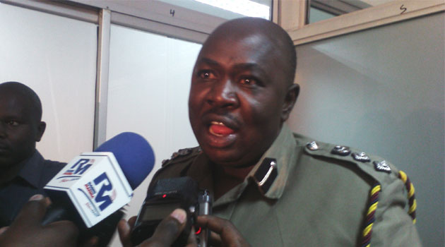 Police spokesman Charles Owino seen here in a file photo.