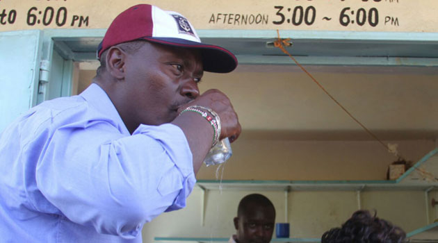 In the video, Kabogo who spoke in Swahili and Kikuyu took jibes at CORD leader Raila Odinga and Machakos Senator Johnson Muthama.